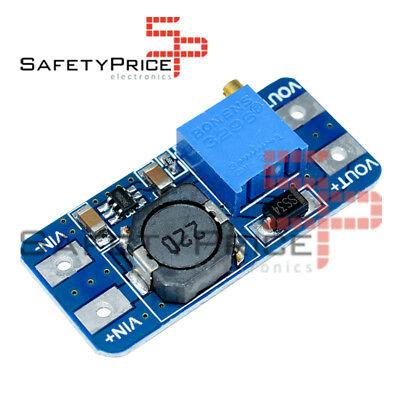 MT3608 voltage boost regulator, adjustable input 2 VCC to 24 VCC 3608 SP