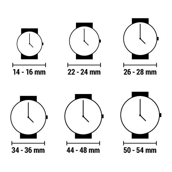 Damen Uhr Zeit Kraft TF1110L 01 (28mm) - 2