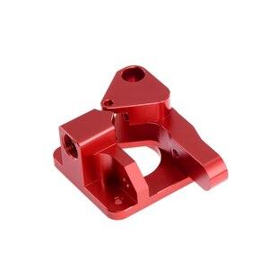 Image 5 - Aluminium Upgrade Dual Getriebe Mk8 Extruder für Extruder Ender 3 CR10 CR 10S PRO RepRap 1,75mm 3D Teile Stick Feed doppel pulley