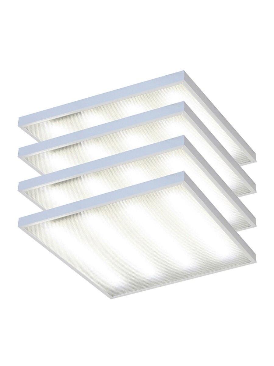 Панель LED подвесная 6000k 600x600x21mm Elvan 4 шт.|Полочные светильники| | АлиЭкспресс
