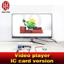 Room escape gadżet odtwarzacz wideo prop umieść karta elektroniczna w czytniku kart, aby uzyskać wideo komnatę gry komnatowej jxkj1987 na przygodę
