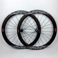 LEERUN 700c carbon wheels disc brake Clincher Tubular road bike bicycle wheels super light 38mm 50mm 60mm carbon wheelset