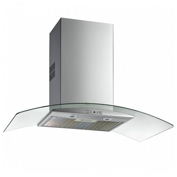 Conventional Hood Teka NC985 90 Cm 807 M3/h 68 DB 286W Stainless Steel