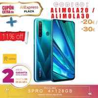 [Ufficiale Spagnolo Versione di Garanzia] Realme 5 Pro Smartphone mobile tag, 6.3 ''duro gb 128 gb di ROM Snapdragon octa core, Quad Camara