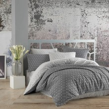 Bedspreads Bed-Covers Puzzle Bedlinen Touch Gray Home-Textile Ranforce Personality Cotton