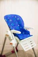 Funda de repuesto de tela de membrana en silla de alimentación pegperego tatamia