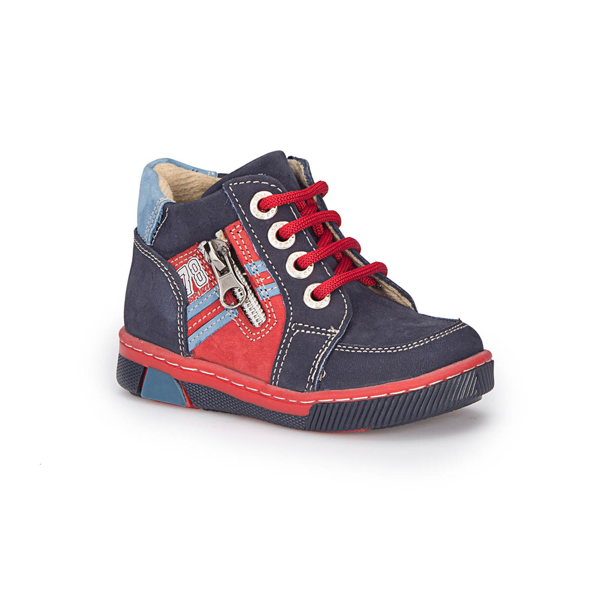 FLO 72.508424.B Navy Blue Male Child Sneaker Shoes Polaris