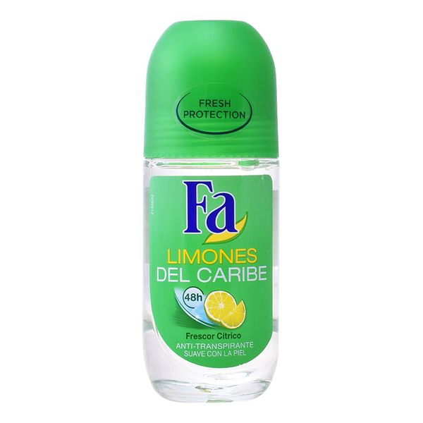 Roll-On Caribbean Lemon Deodorant Fa (50 Ml)