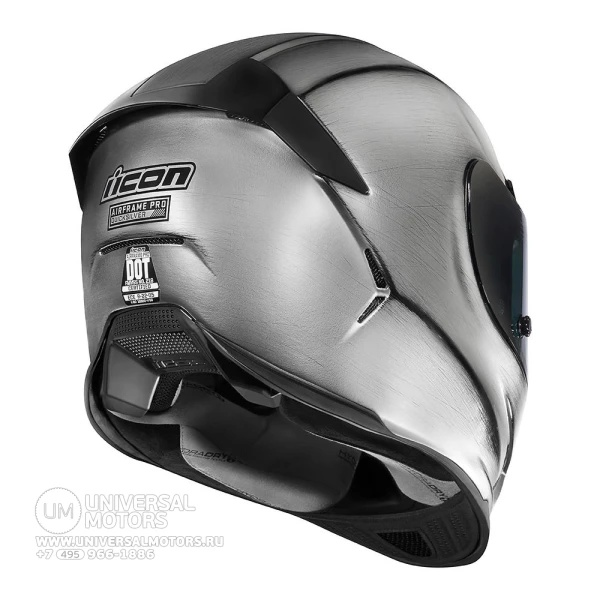 Шлем ICON AIRFRAME PRO QUICKSILVER SILVER|Шлемы| | АлиЭкспресс