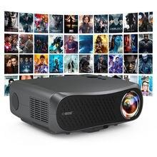 900dab casa projetor para o telefone hd completo 1920x1080 suporte 4k led android 6.0 bluetooth cinema em casa projetor feixe