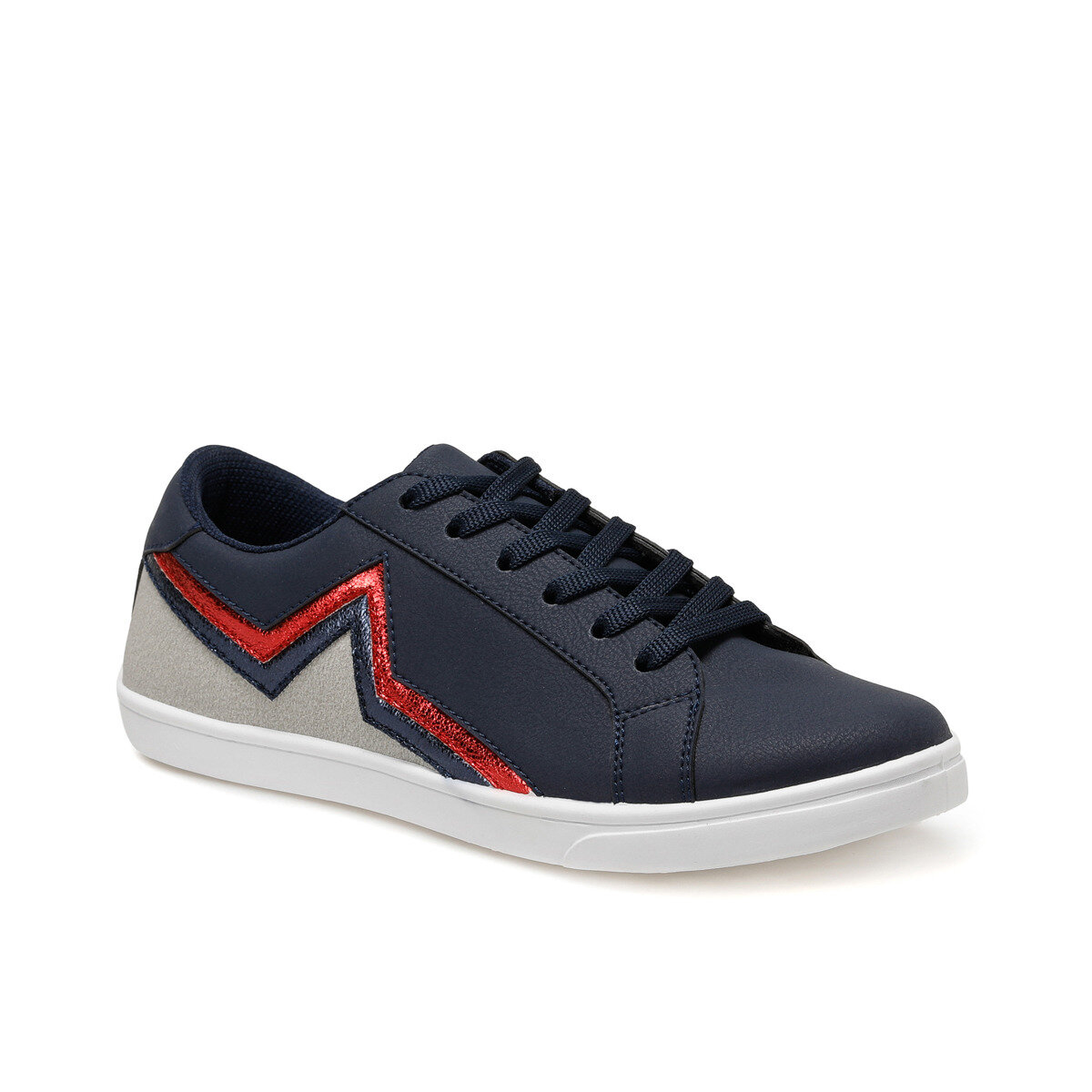 FLO CS20027 Navy Blue Women Basic Casual Shoes Art Bella