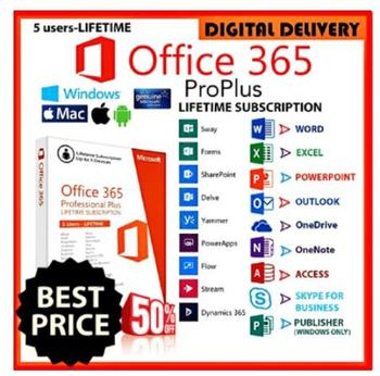 2021- Miсrоѕоft Offiсе 365 - Home & Business Lifetime for 5 PC, tablets & phones ✅ 100% original ✅100% 1