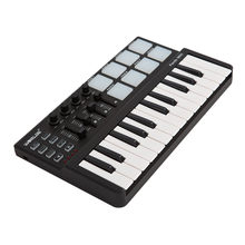 Worlde Panda mini Portable Mini 25-Key USB Keyboard and Drum Pad MIDI Controller Professional Musical instruments(China)