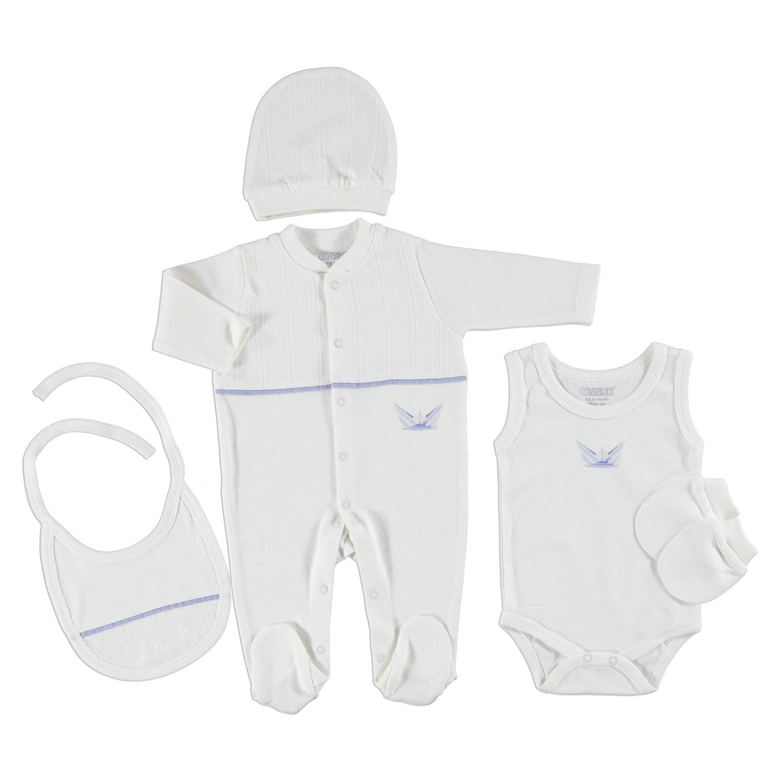 Ebebek Bebbek Sea Adventure Newborn Baby Hospital Pack 5 Pcs