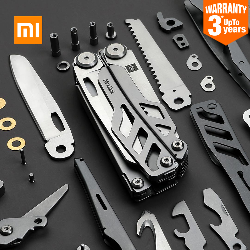 XIAOMI MIJIA HUOHOU portable multi-function folding knife multi-tool survival tool keychain tool outdoor supplies camping tools(China)