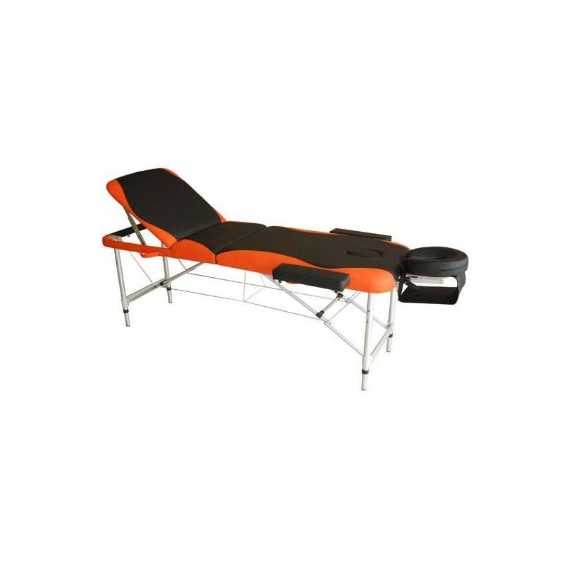 Camilla de Masaje Plegable y Portátil para Fisioterapia Negro y Naranja PU y Estructura Aluminio 185x60 cm|Masaje y relajación| - AliExpress