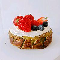 【低碳水】抹茶巴斯克芝士蛋糕~零难度‼️的做法图解13