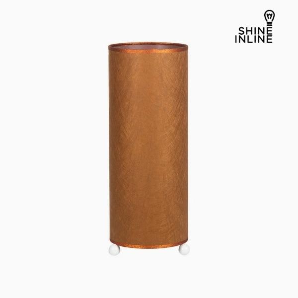 Desk Lamp Copper Cellulose (15 X 15 X 37 Cm) By Shine Inline