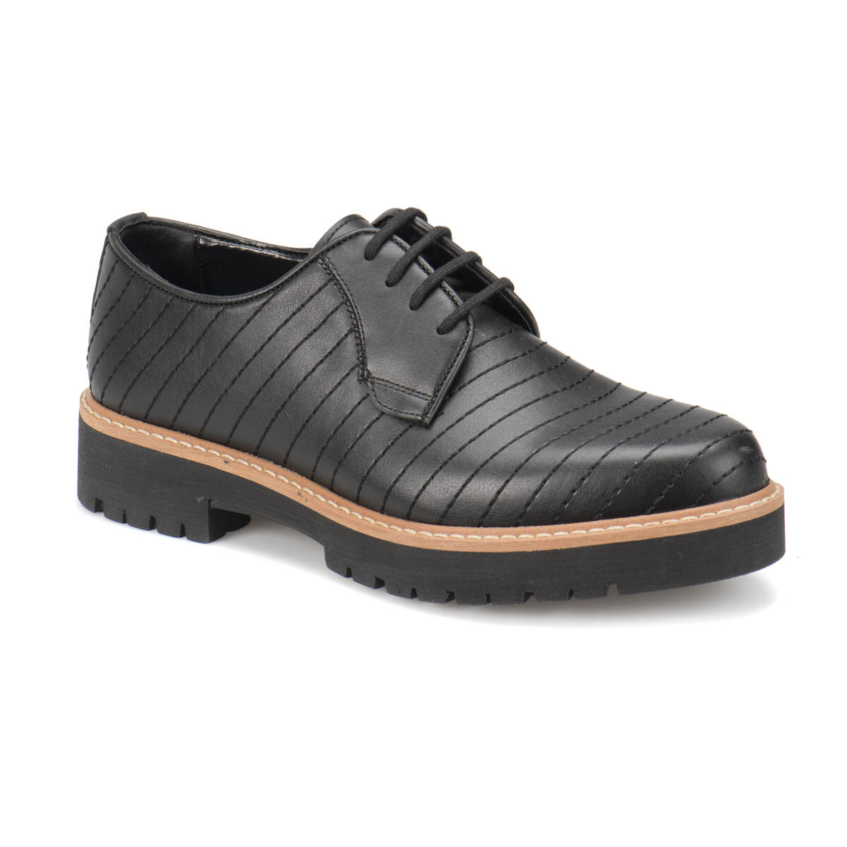 FLO 502-N Black Men 'S Modern Shoes-Styles