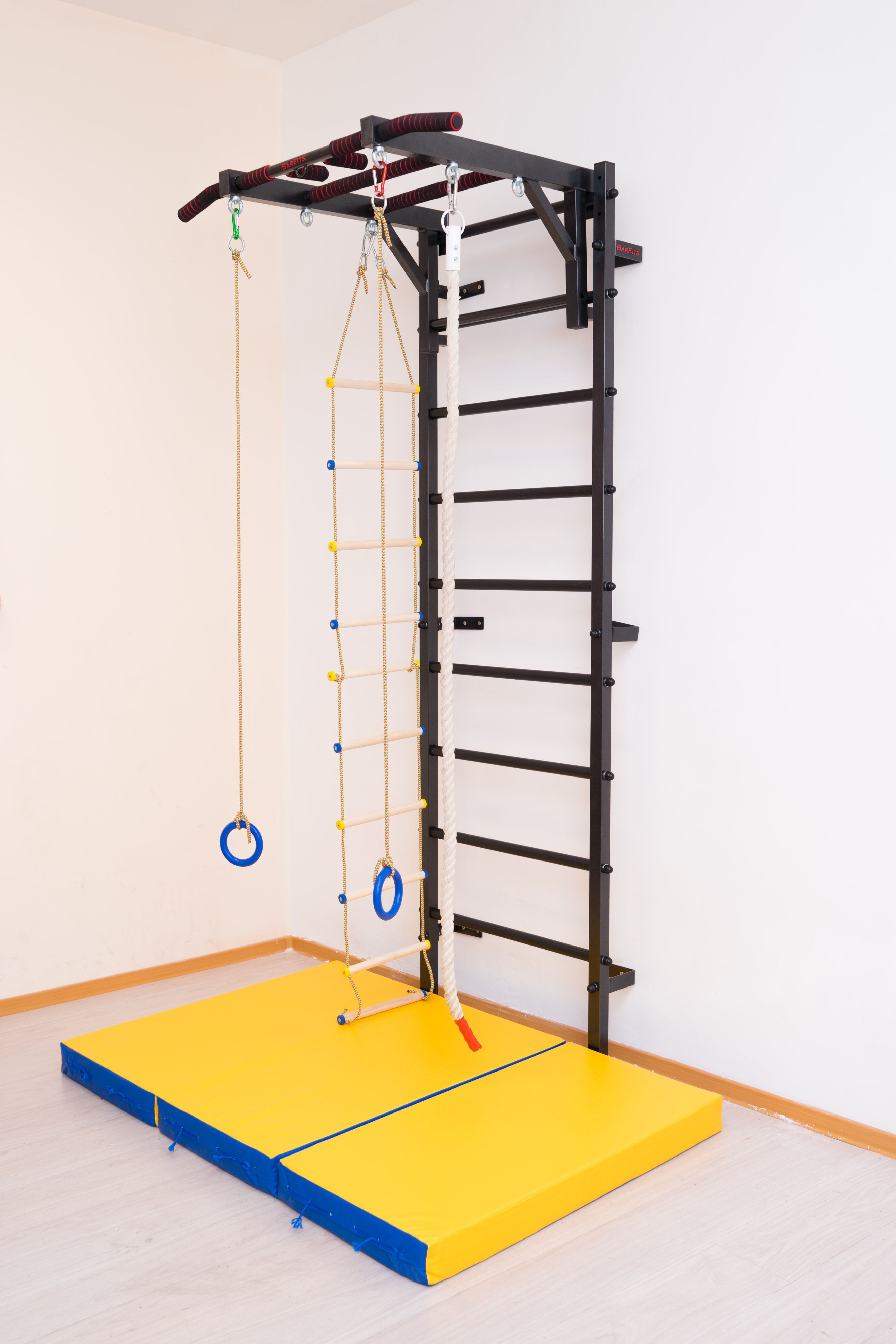 Шведская Wall Barfits Metal With Load Up 250кг Wall For Adults And Children