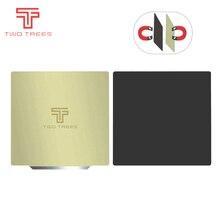 إزالة لوح فولاذي الربيع قبل تطبيقها PEI فليكس المغناطيسي الساخن ملصق 220x220 235x235 310x310 مللي متر للطابعة ثلاثية الأبعاد الحرارة السرير الياقوت