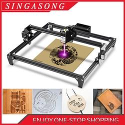 5500W CNC Laser Gravur Maschine 30*40cm 2 Achse DIY Kupferstecher Desktop Holz Router/Cutter/drucker + Laser Brille