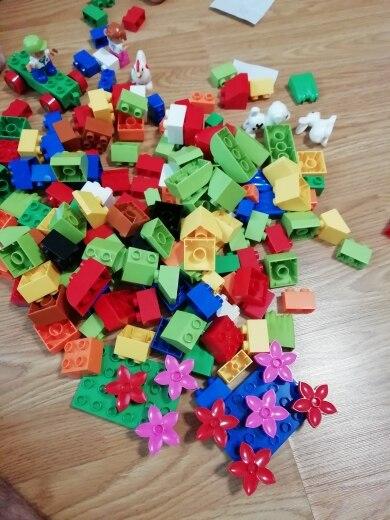 Blocos Instrução Etiqueta Brinquedo