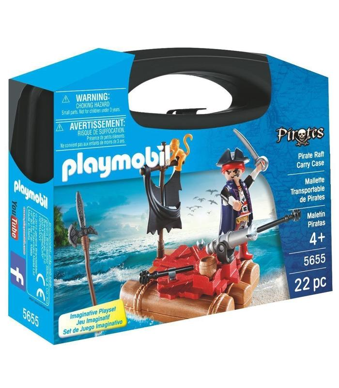 Playmobil 5655 Maletin Pirates Toy Store Articles Created Handbook