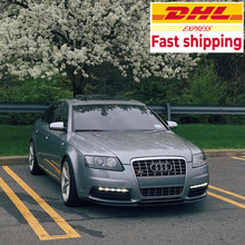 Audi A6 C6 S6 S Line Cupra R Voorspoiler Lip Euro Spoiler Lip Universele 3 Pcs Body Kit
