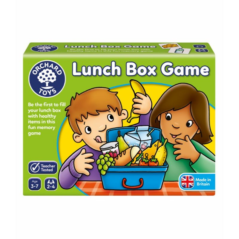 Lunch Box Game for Kids Shopping List Game Nutrition Shopping Game Puzzle Memory Toy Game for Children by Orchard Toys