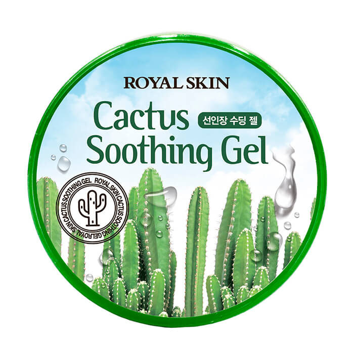 Gel With Cactus Royal Skin Cactus Soothing Gel