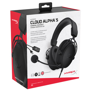 Image 5 - Kingston HyperX Cloud Alpha S سماعة الألعاب 7.1 الصوت المحيطي E سماعة رياضية مع ميكروفون للكمبيوتر و PS4