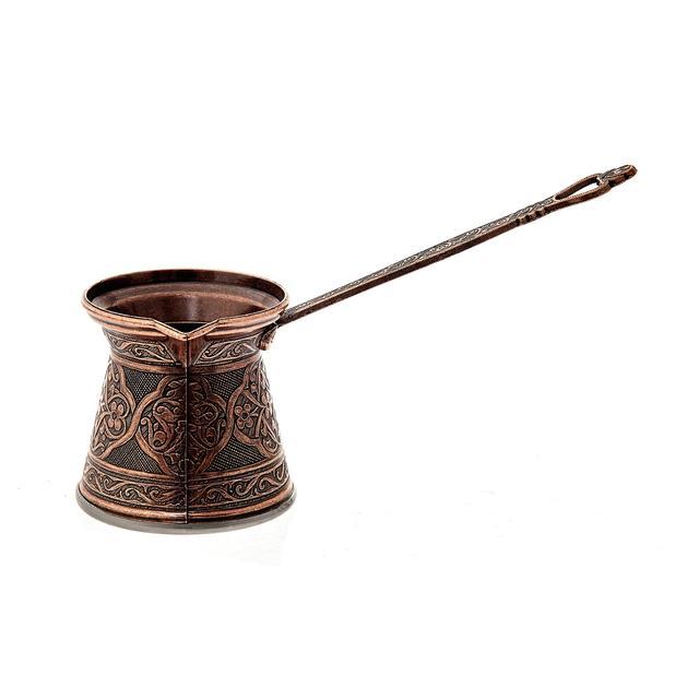 Ibrik Turkish Coffee Pot Copper Cezve  4