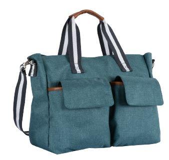 Bag Chicco color green flap fringes contrasting color crossbody bag