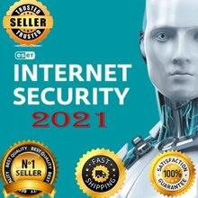 {ES ET INTERNET NOD32 security activation key, 1 year, 1 computer, 2021}