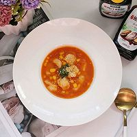 茄汁玉米龙利鱼的做法图解9