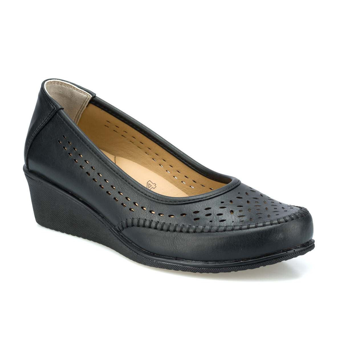 FLO 103049.Z Black Women Shoes Polaris 5 Point