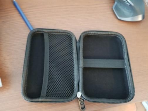 ORICO 2.5 Hard Disk Case Portable HDD Protection Bag for External 2.5 inch Hard Drive Earphone U Disk Hard Disk Drive Case Black reviews №1 144268