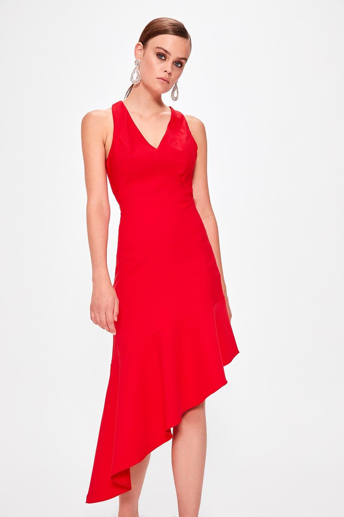 Trendyol Back Detail Dress TPRSS19BB0122