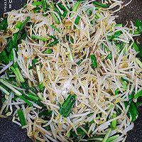 豆芽炒韭菜的做法图解6