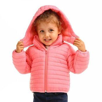 ebebek HelloBaby Puffer Kids Coat Jacket Hoodies Zipper Full Sleeve Solid Color Baby Christmas Vestidos 2020 Winter Warm Coat