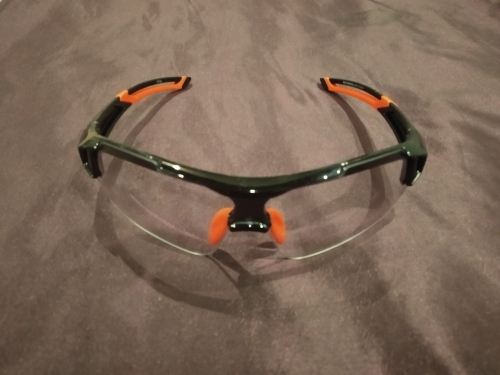 Ultra-Light Photochromic Cycling Glasses With Built-in Myopia Frame photo review