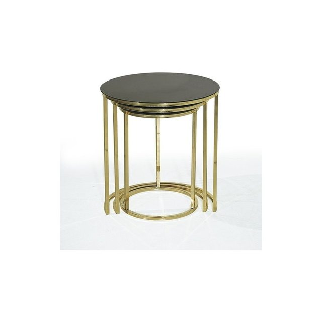 Mirrored Nesting Table 2