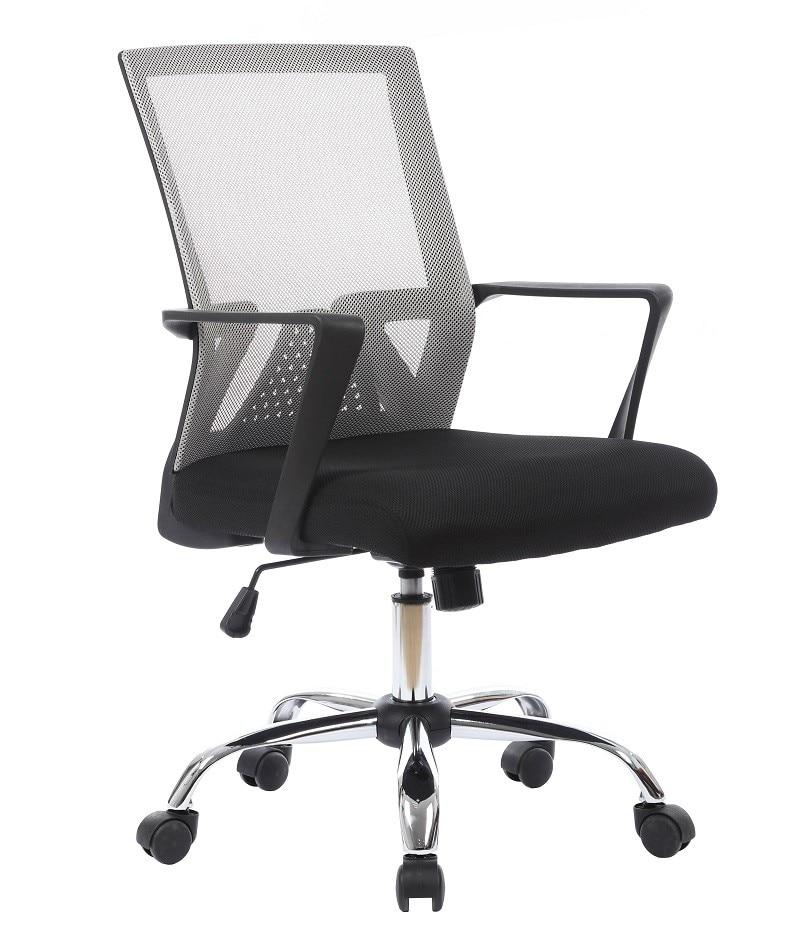 Office Armchair SIROCCO, Gas, Tilt, Gray Mesh Fabric Black