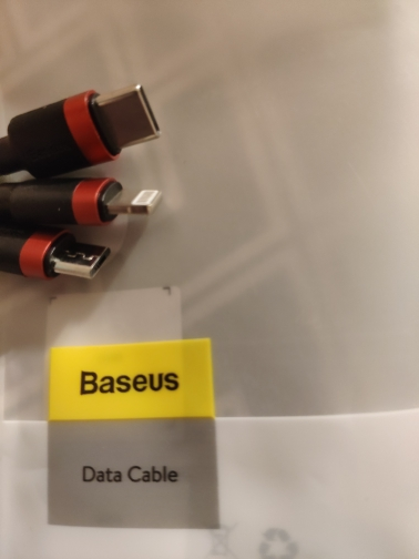 Baseus 3 in 1 USB Cable for iPhone Charger Cable 1.2M Micro USB Type C for Samsung Xiaomi Mobile Phone All in One Charging Cable-in Mobile Phone Cables from Cellphones & Telecommunications on AliExpress