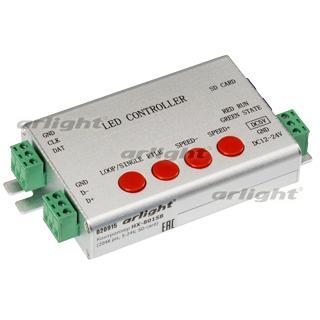020915 Controller HX-801SB 2048 Pix 5-24V SD Card) Box-1 Pcs ARLIGHT-Управление Light/Running Light RGB [SPI] ^ 82