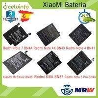 Orijinal pil 6A 6 yayınlanan Xiaomi redmi için not 4X not 4 not 5 not 6 Pro/Mi 6X mi A2 Mi 8 Mi 8 Lite kargo İspanya'dan
