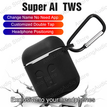 Super AI TWS Aire2 Bluetooth 5.0 Earphone Headphones With Change The Name Earbuds
