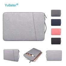Сумка для ноутбука YuBeter, чехол для ПК, чехол для MacBook Air Pro 13,3, 14, 15,6 дюймов, сумка для ноутбука Dell, Acer, HP, мужской и женский портфель