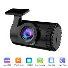 1080P HD Auto Video Kamera Nachtsicht Dash Cam Video Recorder Android USB 170 ° Weitwinkel Auto Dashcam versteckte Auto DVR Register
